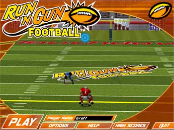 Run N Gun Football screen shot