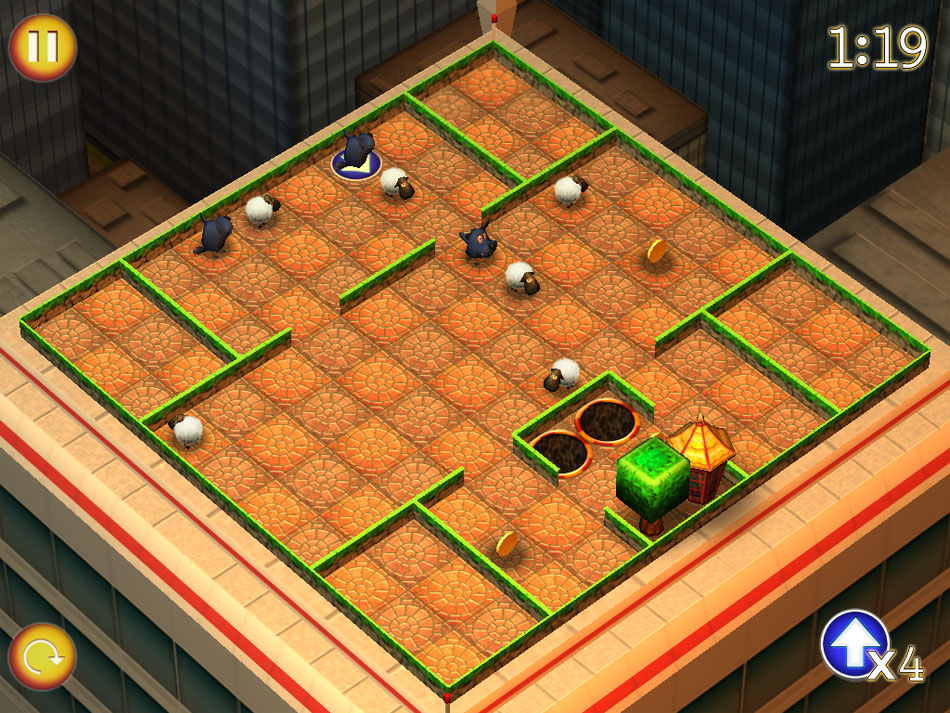 Running Sheep: Tiny Worlds screen shot