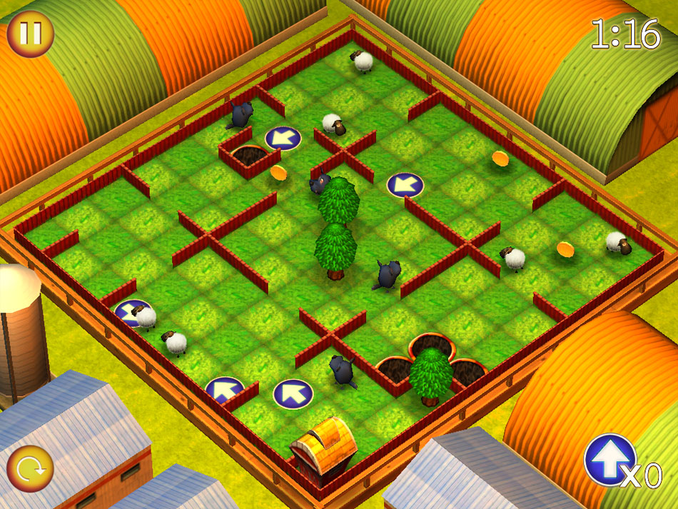 Running Sheep: Tiny Worlds screen shot