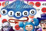 Beat a shady, motley crew to BINGO in Saints and Sinners Bingo!
