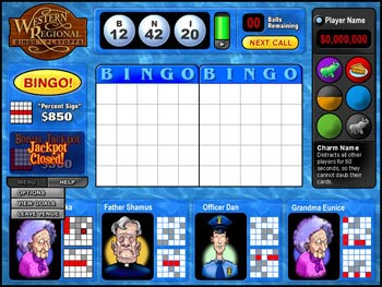 Saints and Sinners Bingo screen shot