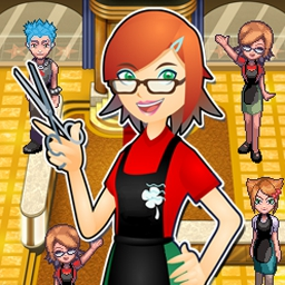 Sally's Salon - Wash, dye, cut, and style hair in over 50 levels of Sally's Salon! - logo