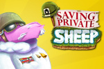 In Saving Private Sheep, put your brain cells to the test as you overcome 148 levels and help General Sheepard save his woolen warriors.