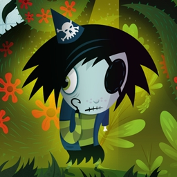 Scarygirl - Scarygirl needs your help! Find the man who haunts her dreams as you work through side-scrolling, action-packed levels. Play Scarygirl today! - logo