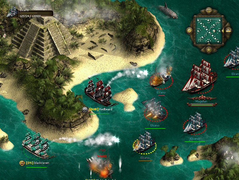 Seafight screen shot