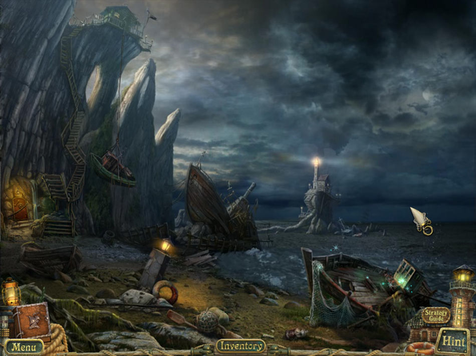 Sea Legends: Phantasmal Light Collector's Edition screen shot