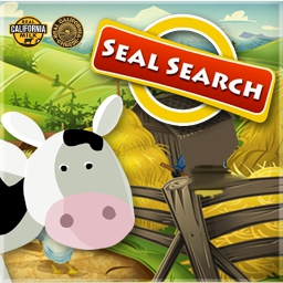 California Milk's Seal Search - Want a dairy-licious way to pass the time?  Then play the free hidden object game, California Milk's Seal Search, today! - logo