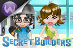 SecretBuilders is a game world filled with online games, dress-up avatars, fashion shows, quests, pets, activities, tree houses, and more!