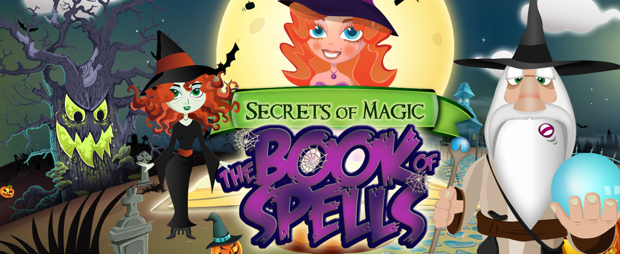 Secrets of Magic: The Book of Spells - Victoria must become a witch! - image