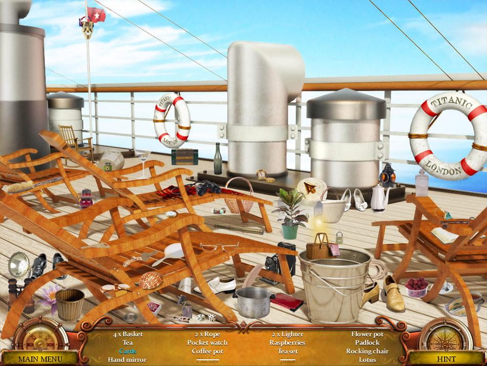 Secrets of the Titanic screen shot