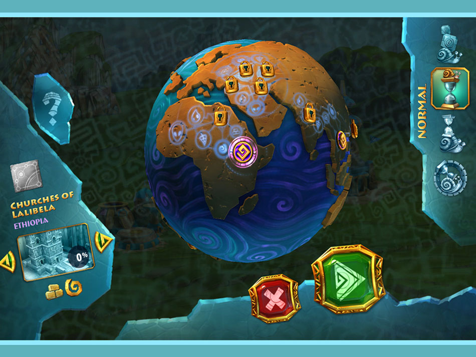 7 Wonders: Ancient Alien Makeover screen shot