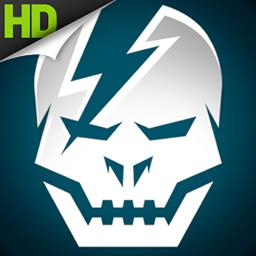 SHADOWGUN HD - SHADOWGUN puts you into the role of John Slade, the galaxy's most infamous bounty hunter. Your mission: Hunt down Dr.Simon and his mutant army. - logo