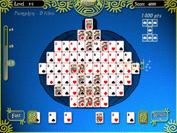 Shape Solitaire screen shot