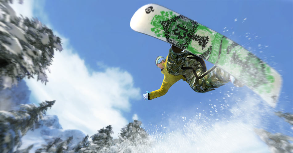 Shaun White Snowboarding screen shot