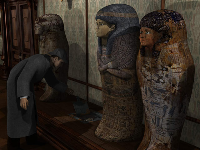 Sherlock Holmes and the Mystery of the Mummy screen shot