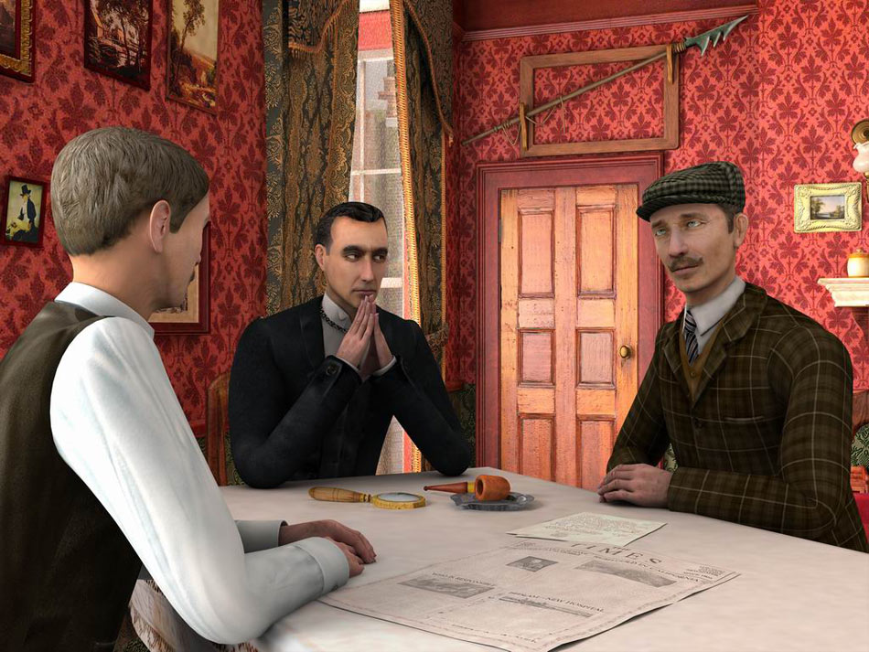 Sherlock Holmes: Secret of the Silver Earring screen shot