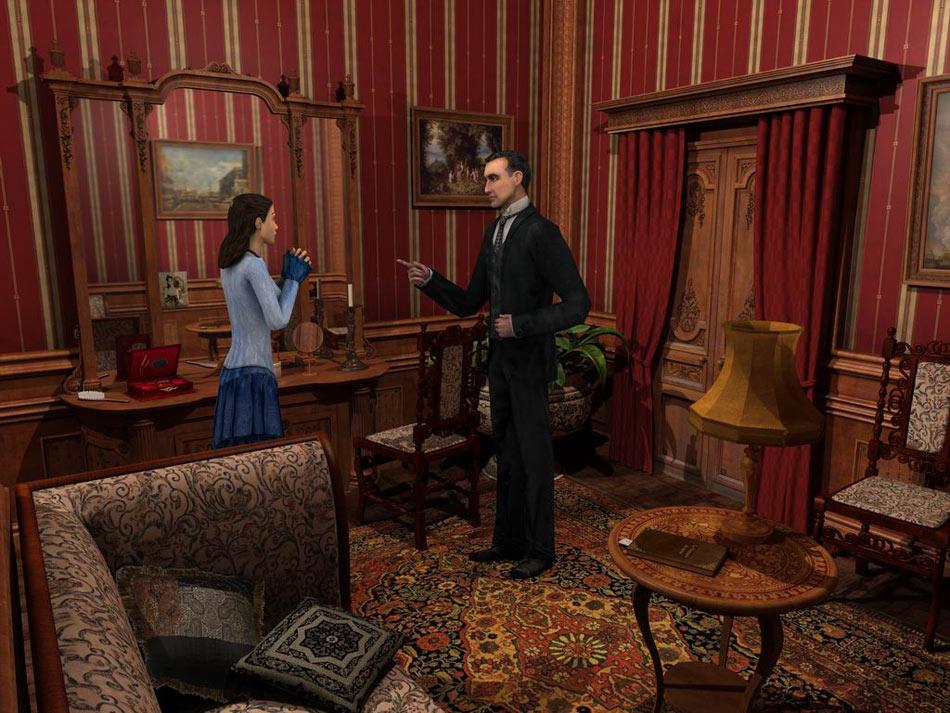 Sherlock Holmes: Secret of the Silver Earring screen shot
