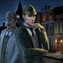 Sherlock Holmes: Mystery of the Persian Carpet - Couple police reports with interrogation and witness statements in Sherlock Holmes: Mystery of the Persian Carpet. - logo
