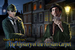 Couple police reports with interrogation and witness statements in Sherlock Holmes: Mystery of the Persian Carpet.