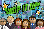 In Shop it Up, your skills are needed at the grand opening of the new mall!