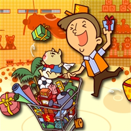 Shopmania - Help Lewis fill shoppers carts at the $pendmoore superstore! - logo