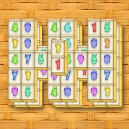 Shumujong™ - Try a mix of classic mahjong and math puzzle with Shumujong™! - logo