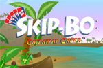 Explore an island teeming with SKIP-BO™ fun in SKIP-BO: Castaway Caper™!