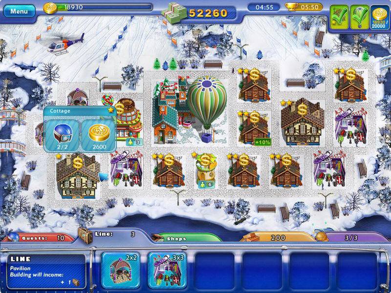 Ski Resort Mogul screen shot