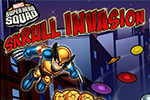 The Skrulls are invading Super Hero City! Gather the team and Hero Up! to defeat them using your matching skills.