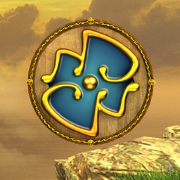 Sky Kingdoms - Sky Kingdoms is an explosively fun match three marble-popper! - logo