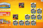 Screenshot of Skylanders Giants Match Card Game