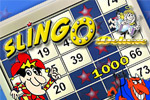 Slingo Deluxe is a wildly addictive game that combines slots and bingo!