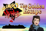 Slingo Mystery 2: The Golden Escape combines Slingo with hidden object fun!