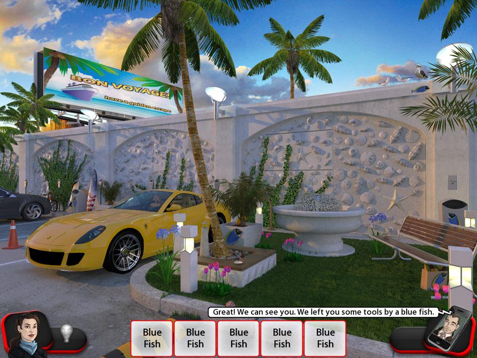 Slingo Mystery 2: The Golden Escape screen shot