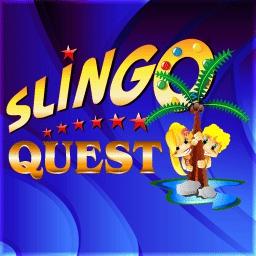 Slingo Quest - Spring into the freshest edition of Slingo - Slingo Quest! - logo