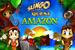 Slingo Quest Amazon is the latest adventure in which you discover a new Hex Slingo board, brand new powerups, and other Slingtastic surprises!