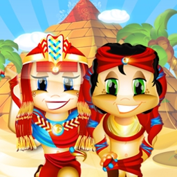 Slingo Quest Egypt - Slingo Quest heads to Egypt to discover fun new powerups and game modes! - logo