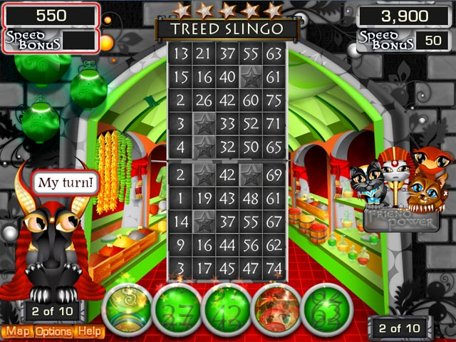 Slingo Quest Egypt screen shot