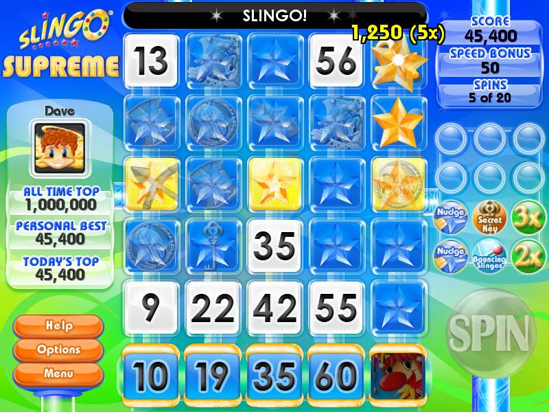 gamehouse casino plus slingo daily challenge