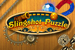 This clever puzzle game plays like a combination between pinball and golf... but with magnets, fans, and switches!  Are you ready to Slingshot Puzzle?