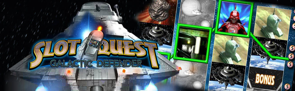 Slot Quest: Galactic Defender