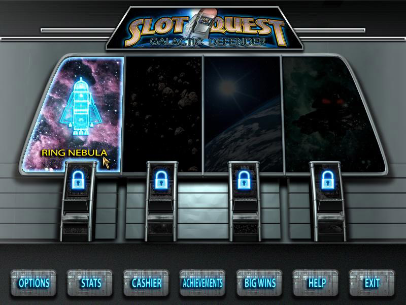 Slot Quest: Galactic Defender screen shot
