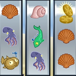 Slots: Under The Sea - Relax with Slots: Under the Sea!  Practice your best Vegas moves in this free online game that features cute sea creatures. - logo