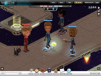 SmallWorlds screen shot