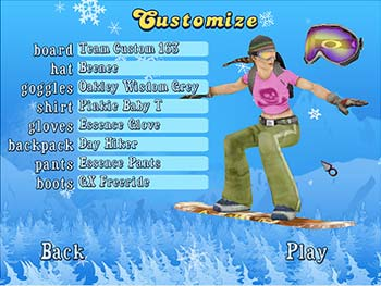 Snowboard SuperJam screen shot