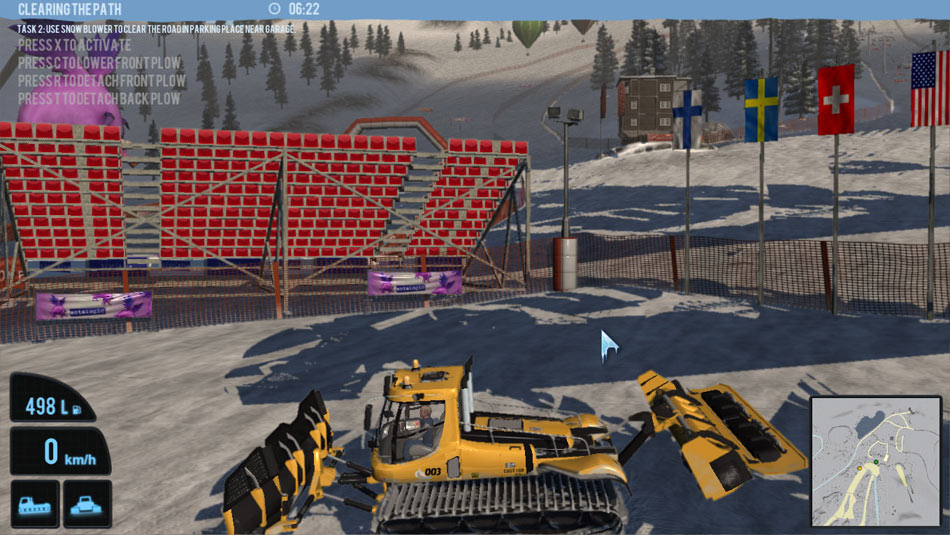Snowcat Simulator 2011 screen shot
