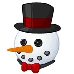 Snowman Maker - Snowman Maker is the perfect game to celebrate winter! Create your own virtual snowman and customize your background image. - logo