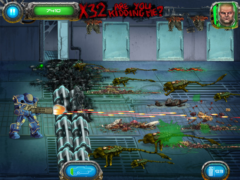 Soldier vs. Aliens screen shot
