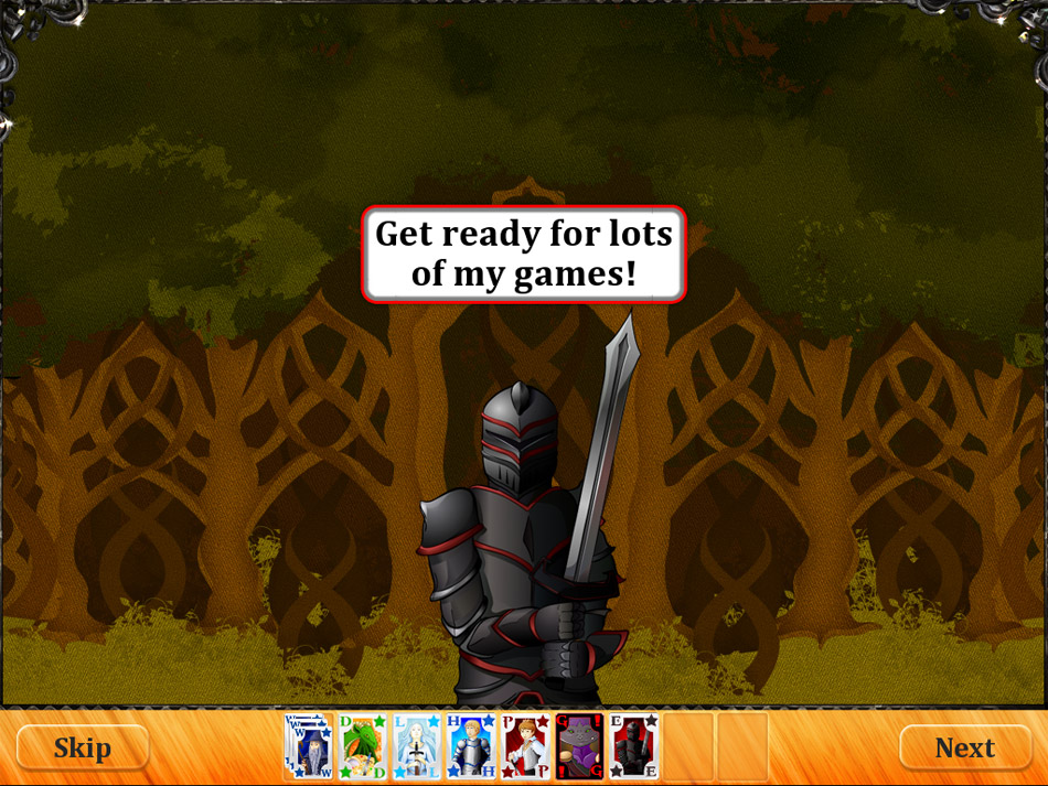 Solitaire Kingdom Quest screen shot