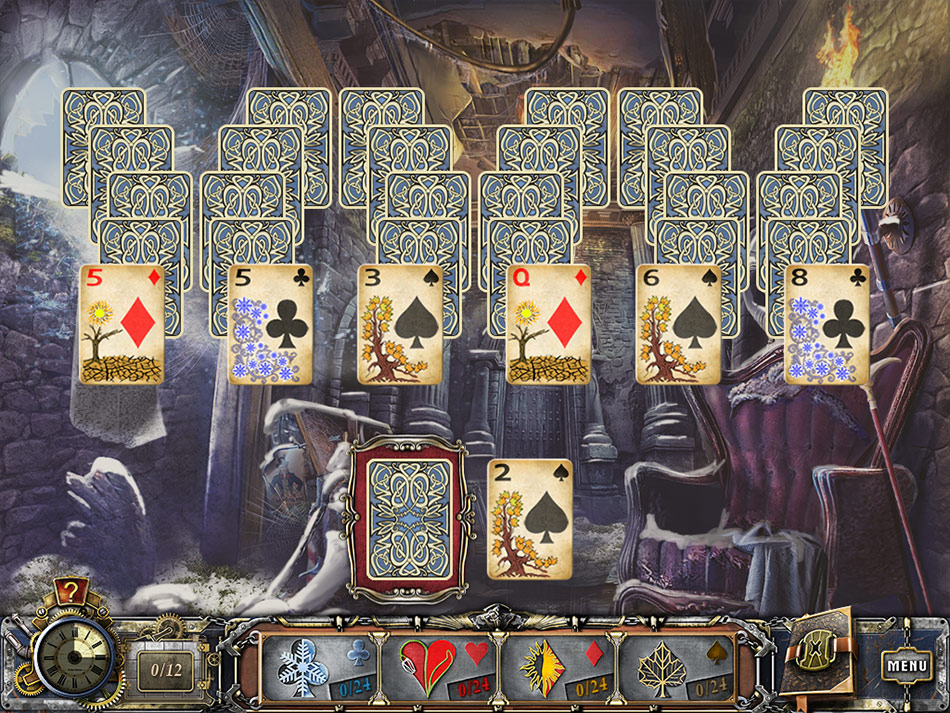 Solitaire Mystery Four Seasons screen shot